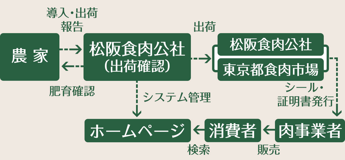 Flow chart of system